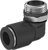 Universal-Thread Push-to-Connect Tube Fittings for Air and Water