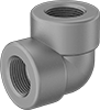 High-Pressure Galvanized Steel Threaded Pipe Fittings