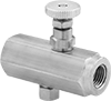 Threaded Precision Flow-Adjustment Valves