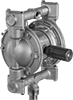 Stainless Steel Extended-Life Air-Powered Drum Pumps for Chemicals