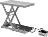 Air-Powered Stationary Lift Tables