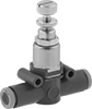 Compressed Air Regulators for Tubing