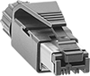 Shielded Snap-On Data Connectors