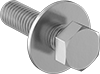 Hex Head Screws with Flat Washer