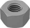 High-Strength Steel Extra-Wide Hex Nuts for Structural Applications—Grade C