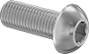 Fine-Thread Metric 316 Stainless Steel Button Head Hex Drive Screws