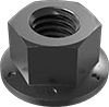High-Strength Steel Distorted-Thread Flange Locknuts