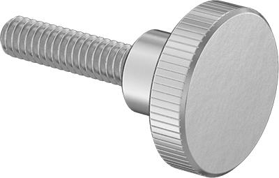 Narrow Thread Size #8-40 Knurled-Head Thumb Screw 18-8 Stainless Steel