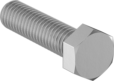 Corrosion-Resistant Hex Head Screw for Wood 316 Stainless Steel Thread Size 3//4-4-1//2 Thread Size 3//4-4-1//2 FastenerParts