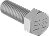 18-8 Stainless Steel Heavy Hex Head Screws for High-Pressure Applications