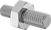 Metric-to-Metric Male Hex Thread Adapters