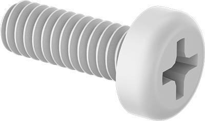 Socket Head Screw Glass-Filled Nylon Thread Size #8-32