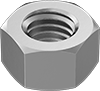 Metric Fine-Thread Medium-Strength Steel Hex Nuts—Class 8
