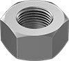 Metric Fine-Thread 18-8 Stainless Steel Hex Nuts