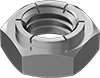 Stainless Steel Thin Flex-Top Locknuts for Heavy Vibration