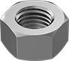 Metric Super-Corrosion-Resistant 316 Stainless Steel Hex Nuts