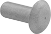 Mil. Spec. Aluminum Low-Profile Domed Head Solid Rivets
