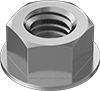 High-Strength Steel Flange Nuts—Grade 8
