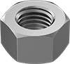 Super-Corrosion-Resistant 316 Stainless Steel Hex Nuts
