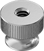 18-8 Stainless Steel Flanged Knurled-Head Thumb Nuts