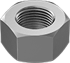 Medium-Strength Steel Hex Nuts—Grade 5