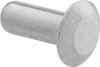 Aluminum Low-Profile Domed Head Solid Rivets