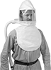 Supplied-Air Hood Respirators for Plant Air Lines