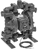 316 Stainless Steel Air-Powered Transfer Pumps for Chemicals, Fuel, and Flammable Liquids