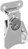 Turn-to-Open Padlockable Draw Latches