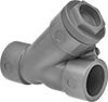 Socket-Connect Check Valves for Harsh Chemicals
