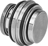 Insert Check Valves with Sanitary Quick-Clamp Fittings for Food and Beverage