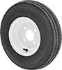 Steel-Hub Pneumatic Trailer Wheels for Highway Use