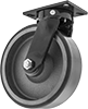 Extra-High-Capacity Compact Alliance Casters with Polyurethane Wheels