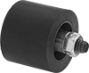 Threaded Idler Rollers