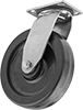 High-Capacity Washdown Casters with Polyurethane Wheels