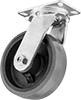 Extra-High-Capacity Viking Casters with Polyurethane Wheels