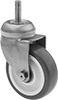 Corrosion-Resistant Threaded-Stem Casters with Polyurethane Wheels