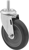 Threaded-Stem Casters with Polyurethane Wheels