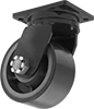Extra-High-Capacity Hercules Casters with Polyurethane Wheels