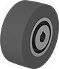 Abrasion-Resistant Keyed Drive Rollers