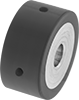 Abrasion-Resistant Low-Profile Drive Rollers