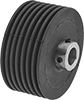 Abrasion-Resistant Self-Cleaning Drive Rollers