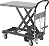 Foot-Operated Mobile Lift Tables
