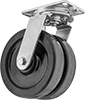 High-Capacity Viking Casters with Nylon Wheels