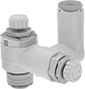 Corrosion-Resistant Single-Control Two-Direction Air Flow Control Valves