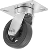 Vulcan Casters with Rubber Wheels