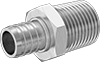 Barbed Tube Fittings for Drinking Water