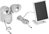 Solar-Powered Motion-Sensing Security Lights