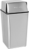 Metal Waste Containers with Push Lid