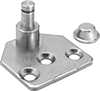 Corrosion-Resistant Eyelet Mounting Brackets for Gas Springs